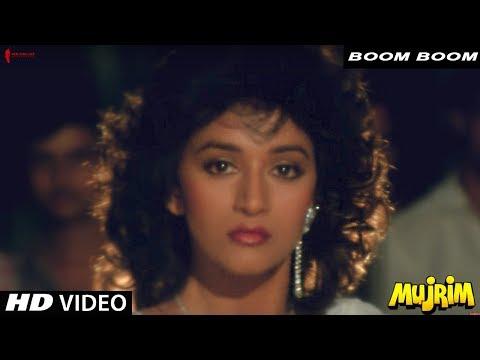Boom Boom | Mohammed Aziz | Mujrim | Mithun Chakraborty, Madhuri Dixit & Shakti Kapoor