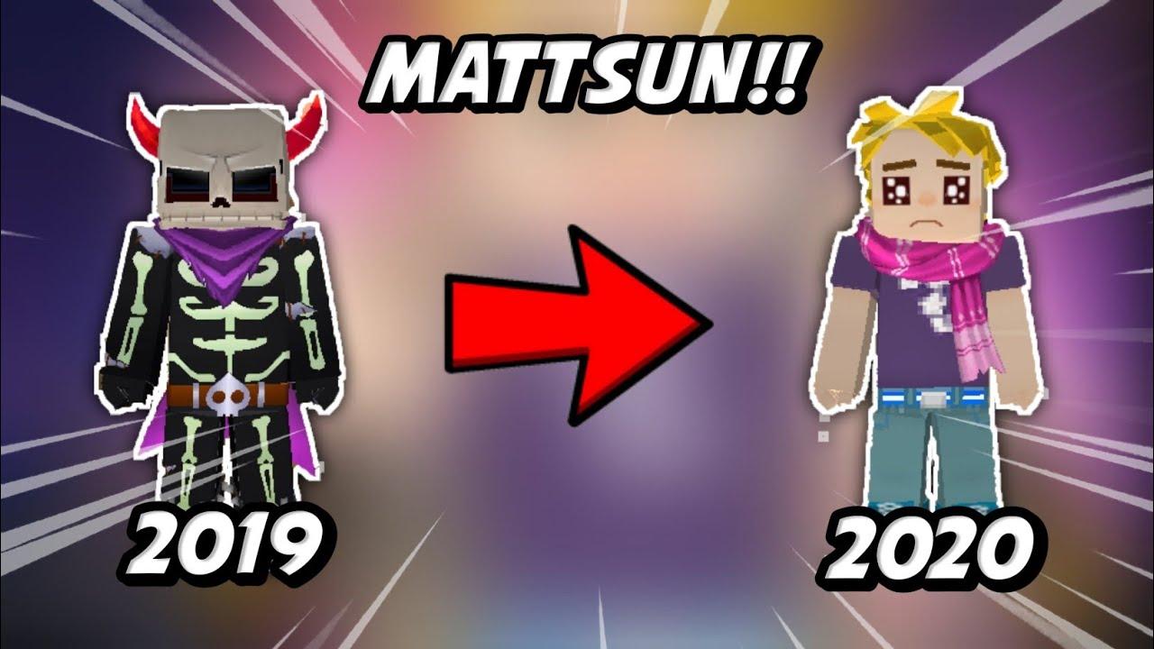 Download Evolution Of MATTSUN BG Skin In Blockman Go!!