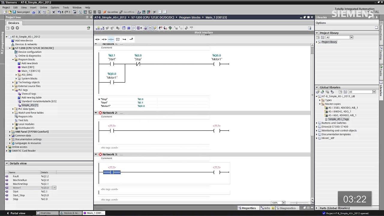 SIMATIC S7-1200: AT 8 - AS-Interface facile