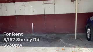 5/167 Shirley Rd