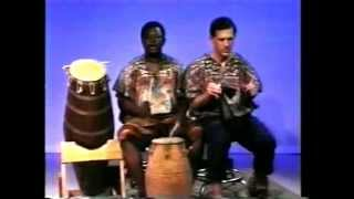 Call & Response - Voice (as Lead Drum) with Kidi (Support Drum) - ATSIA - Ewe people of Ghana