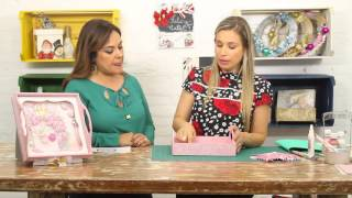 Bandeja de Natal Shabby por Chic Camila Claro