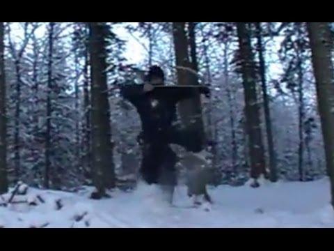Combat Archery in snow