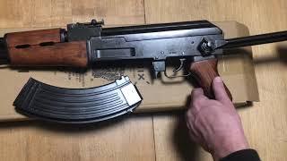 Автомат Калашникова АКС-47 со складным прикладом, AK47 Asault Rifle, Russia 1947, Denix 1097