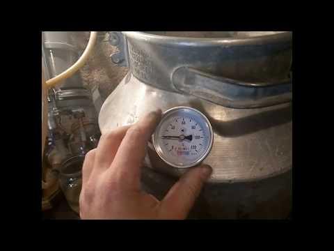 Как установить термометр на перегонный куб