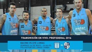 Prefederal 2016: Racing vs. Gimnasia y Esgrima de Lomas [En Vivo]