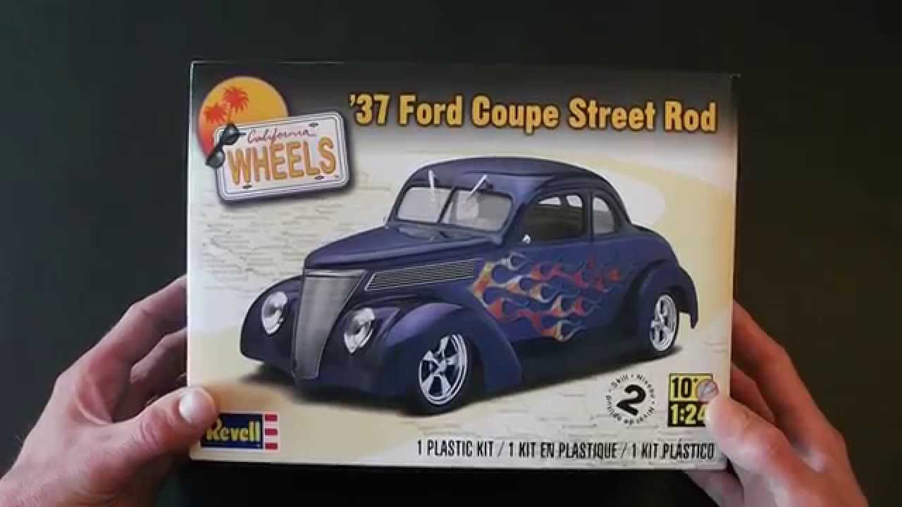 116 - Revell 1937 Ford Coupe Street Rod Review - YouTube
