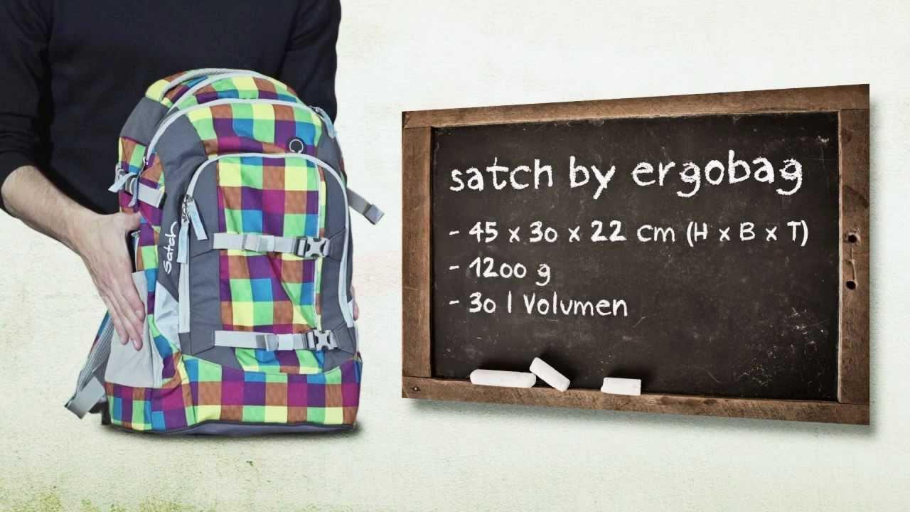 20c9074dc9b8c satch Rucksack by ergobag bei schulranzen.net - YouTube
