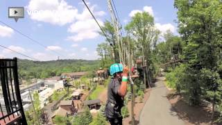 Turtleback Zoo, Treetop Zipline, South Mountain Recreation, West Orange, NJ