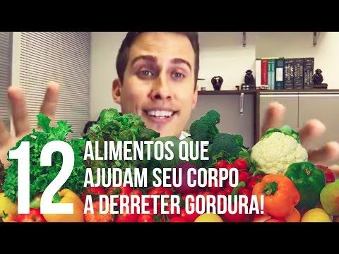 12 Alimentos que Ajudam Seu Corpo a Derreter Gordura e Emagrecer! | Dr Juliano Pimentel