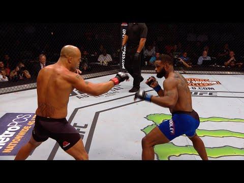 Все финиши Тайрона Вудли в UFC