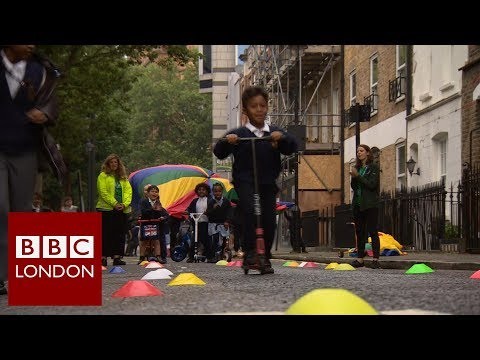 Schools and air pollution – BBC London News