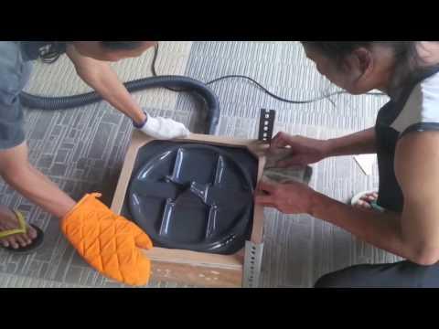 Coil Housing Vacuum Forming Proses