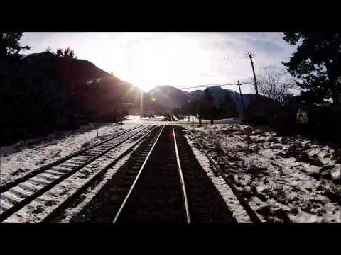 CP Rail. Boston Bar to Roberts Bank. (Rail Fan Edit) A GoPro Hero 2 HD Time-Lapse