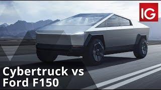 Cybertruck vs Ford F150