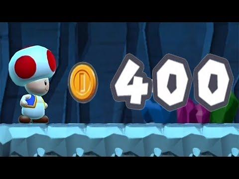 Super Mario Run - 400 Coins in World 1-2 (How to Unlock ★-6)