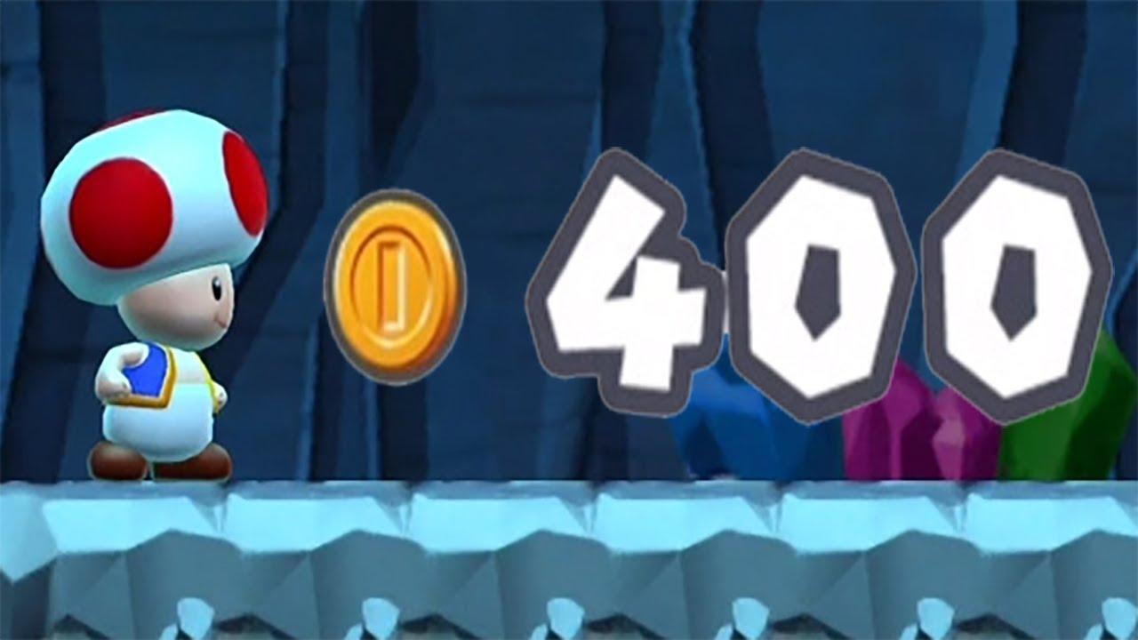 mario run 1 2 400 coins
