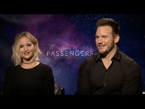 PASSENGERS interview - Jennifer Lawrence, Chris Pratt, Michael Sheen