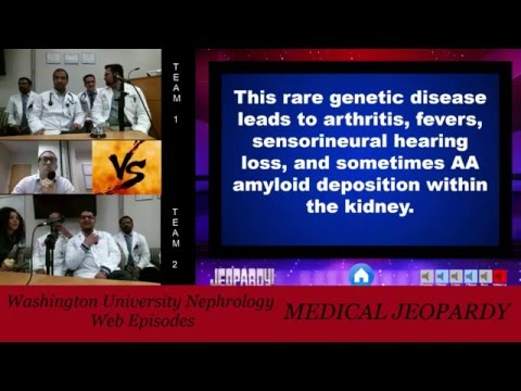 Web Episode #004 - Medical Jeopardy with our Renal Fellows
