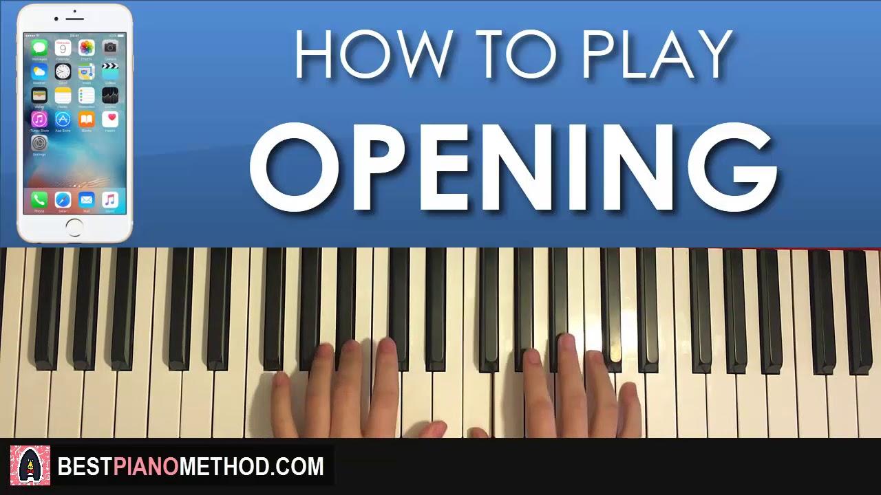 marimba ringtone piano letters