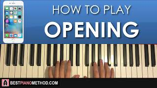 """This is a step by piano tutorial on iphone ringtone """"opening"""" -- 🎹 learn amosdoll's methods (free 4-part video lessons) part 1: https://youtu.be/x..."""
