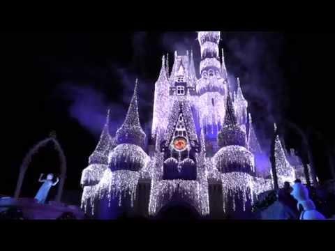 Disney's 2015 Frozen Holiday Wish from the Magic Kingdom at Walt Disney World