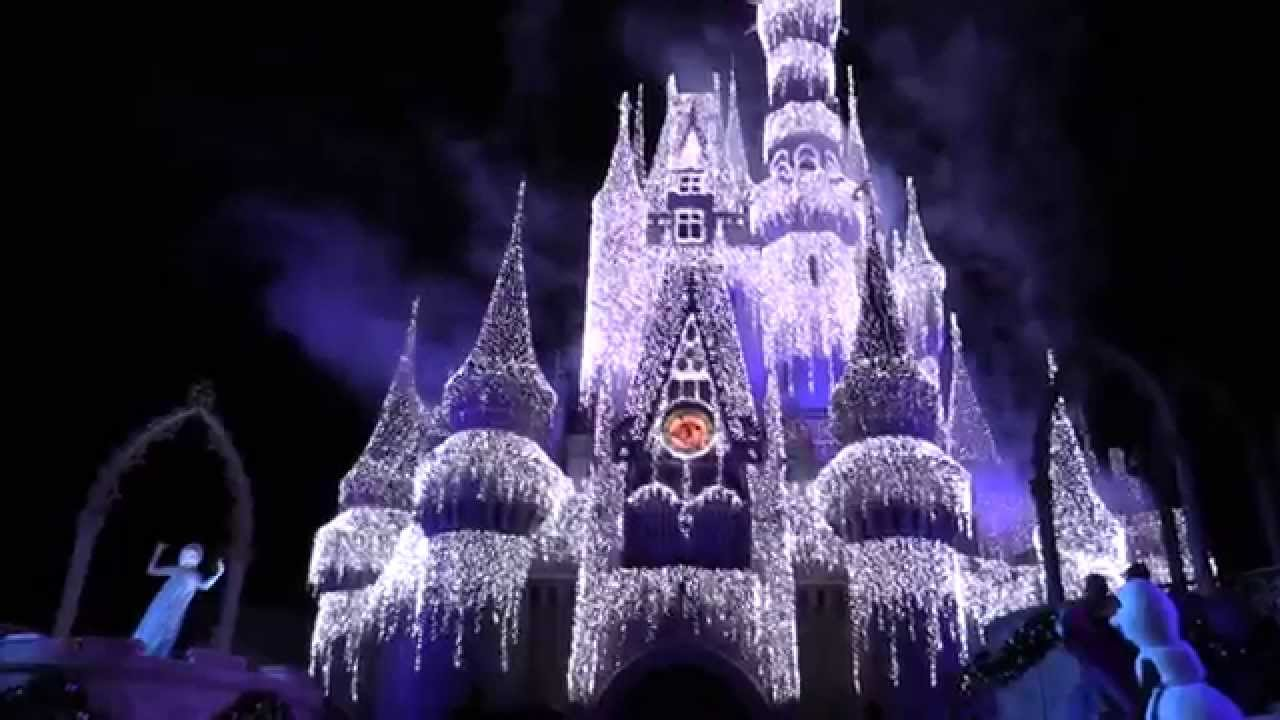 Disneys 2015 frozen holiday wish from the magic kingdom at walt disneys 2015 frozen holiday wish from the magic kingdom at walt disney world publicscrutiny Image collections