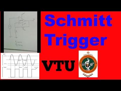 Schmitt trigger Laboratory explanation vtu 3rd semester computer science engineering