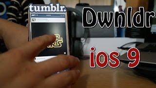 Dwnldr (IOS 9) Download Tumblr Videos