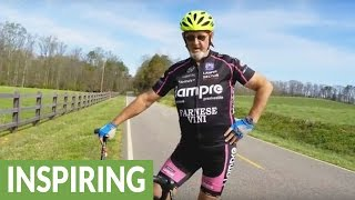 73-year-old cyclist proves you're only as young as you feel