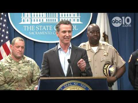 Governor Newsom announces plan to draw down guard troops at border | RAW Mp3