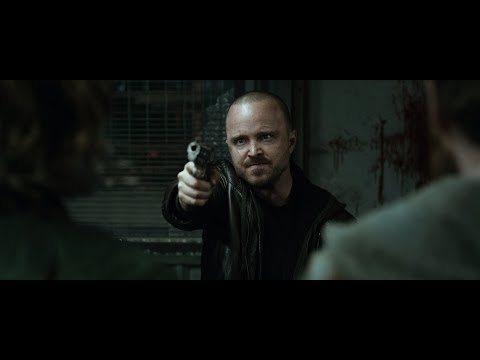 El Camino: A Breaking Bad Movie - Badass Jesse Pinkman's Shootout Scene (1080p)