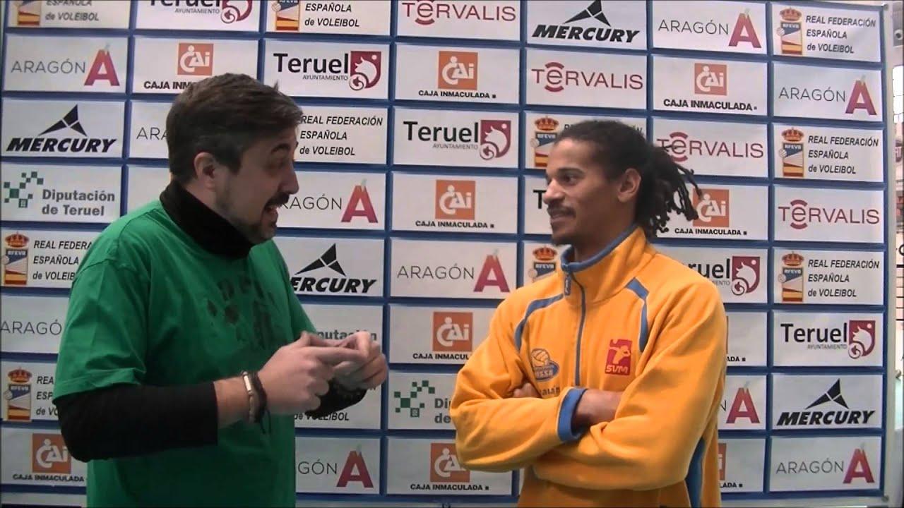 Entrevistas cuartos final Copa del rey de Voleibol 2015. Ibiza Voley