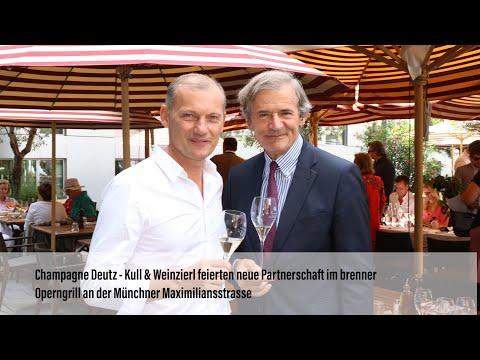 Champagne Deutz – Kull & Weinzierl feiern Partnerschaft im brenner Operngrill