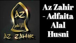 Az Zahir Pekalongan - Adfaita (lirik)