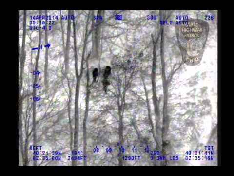 Patrol uses Forward-Looking Infra-Red -- or FLIR technology  to locate woman lost in woods