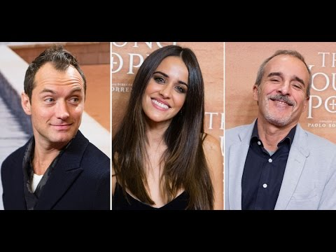 Jude Law presenta en Madrid su nueva serie, 'The Young Pope'