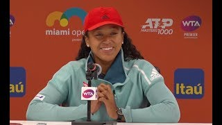 Naomi Osaka Press Conference | 2019 Miami Open Second Round thumbnail