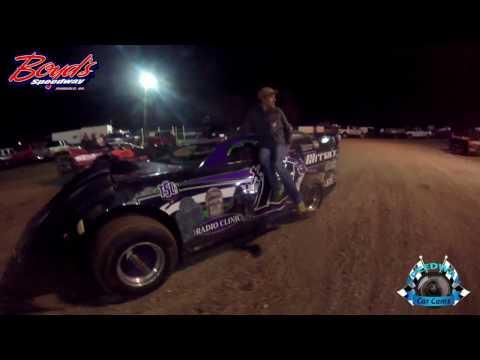 #x13 Mitch Jr - Hobby - 3-18-17 Boyd's Speedway - Dirt In-Car Camera