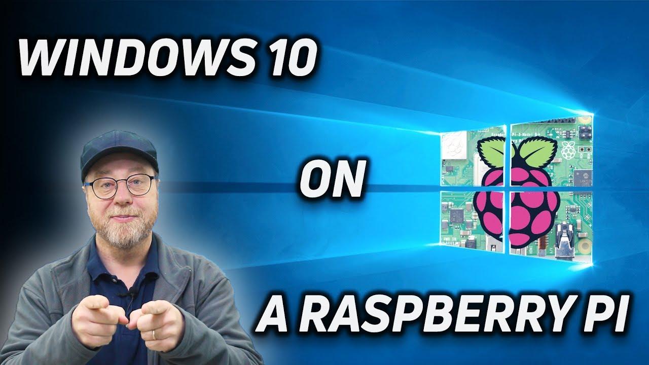 Full Windows 10 Desktop on Raspberry Pi!!!