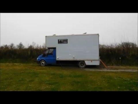Self-Build Campervan - For Ontourwithdaisy.co.uk