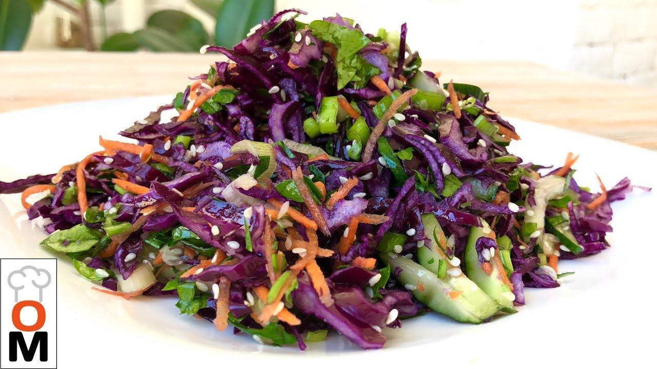 Очень Простой, но Такой Вкусный  Овощной Салат, Который Порадует Вашу Семью