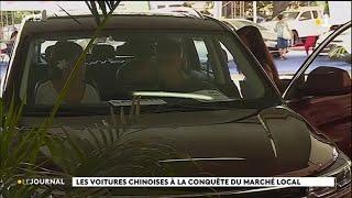 Salon de l'auto : les voitures chinoises trouvent leur public