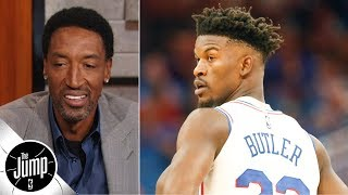 Jimmy Butler makes 76ers 'team to beat' in East - Scottie Pippen | The Jump