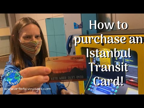 ISTANBULKART   HOW TO BUY AN ISTANBUL TRANSIT CARD   Tips for riding the metro in Istanbul   2020