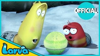 larva - snowball fight  2016 full movie cartoon  cartoons for children  larva official