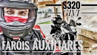 Review dos FARÓIS AUXILIARES em LED (GIVI S320)