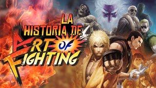 La historia de Yuri, Robert y Ryo (Art Of Fighting)