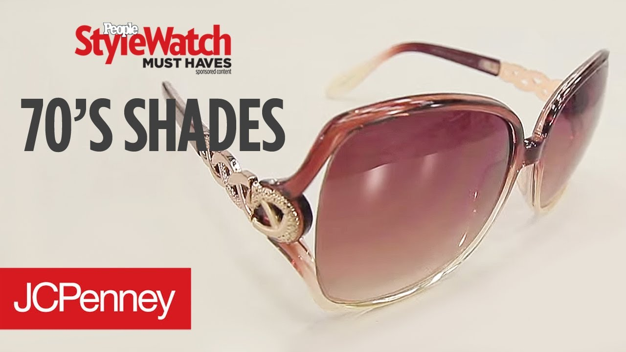 70 S Style Sunglasses Summer Must Have Accessories Jcpenney Youtube