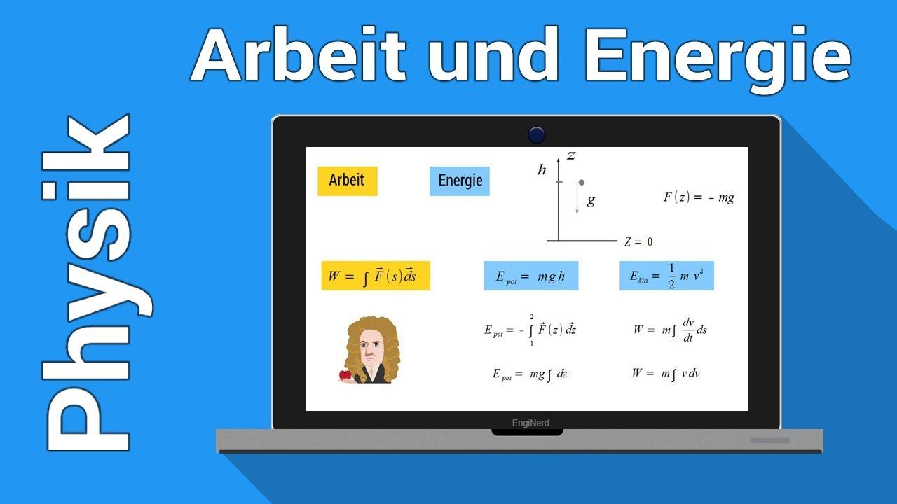 Mechanische Energie und Arbeit   kinetische Energie   Physiknachhilfe